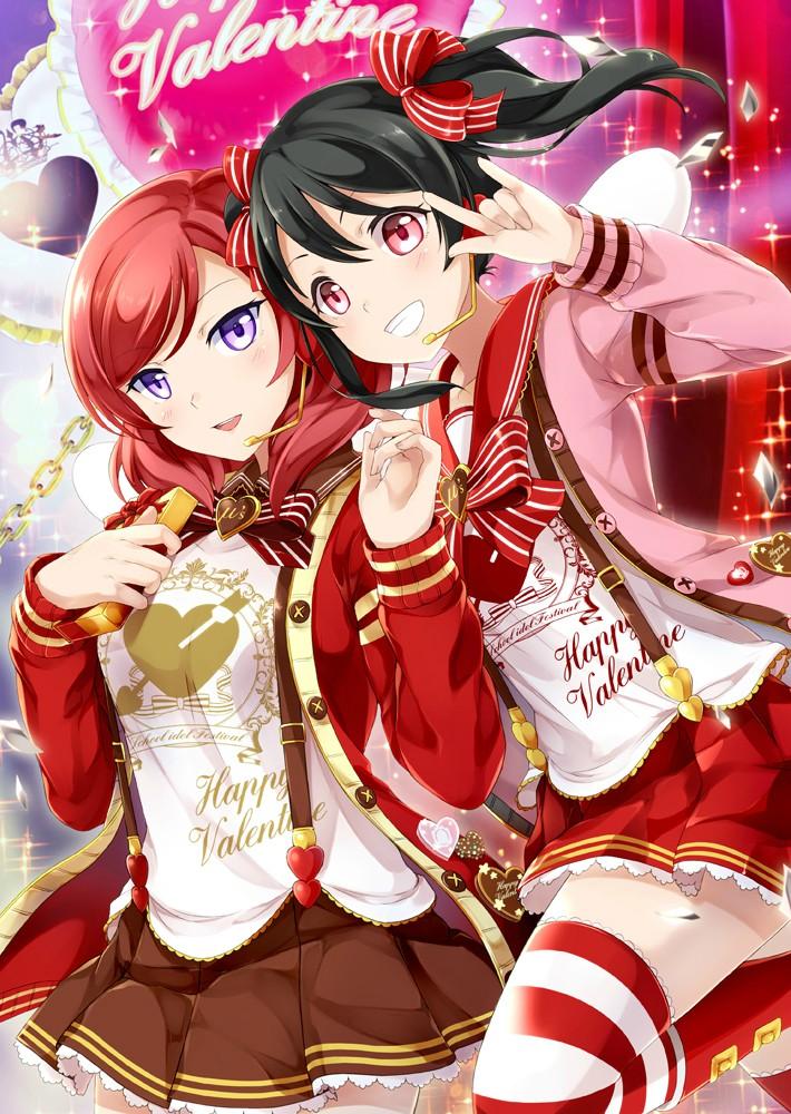 Love Live! Dominates the Top 10 Anime Characters to Get Give Valentine's Day Chocolate Poll haruhichan.com Love Live Maki Nishikino Nico Yazawa