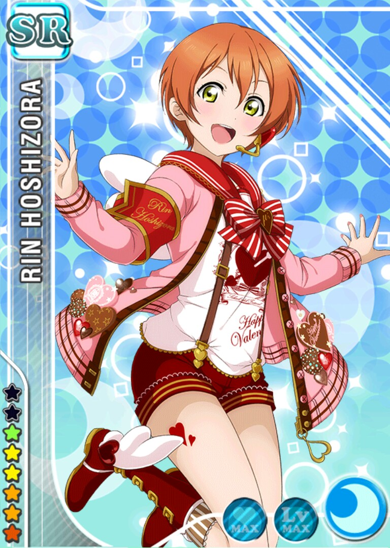 Love Live! Dominates the Top 10 Anime Characters to Get Give Valentine's Day Chocolate Poll haruhichan.com Love Live Rin Hoshizora