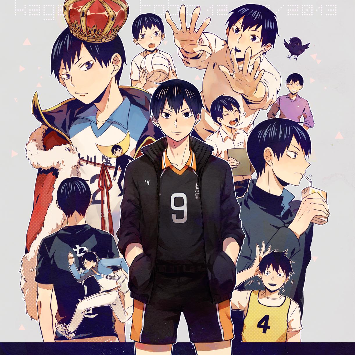 Love Live! Dominates the Top 10 Anime Characters to Get Give Valentine's Day Chocolate Poll haruhichan.com Tobio Kageyama Haikyuu