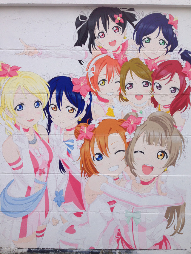 Love Live!'s History in Mural 10