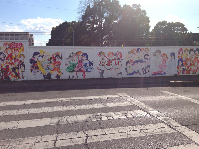 Love Live!'s History in Mural 14