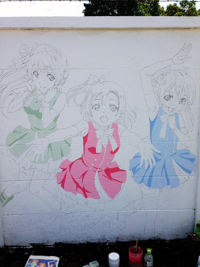 Love Live!'s History in Mural 15