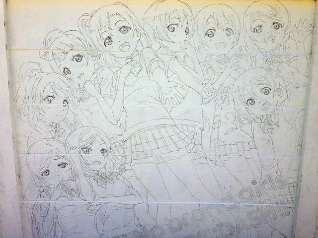 Love Live!'s History in Mural 17