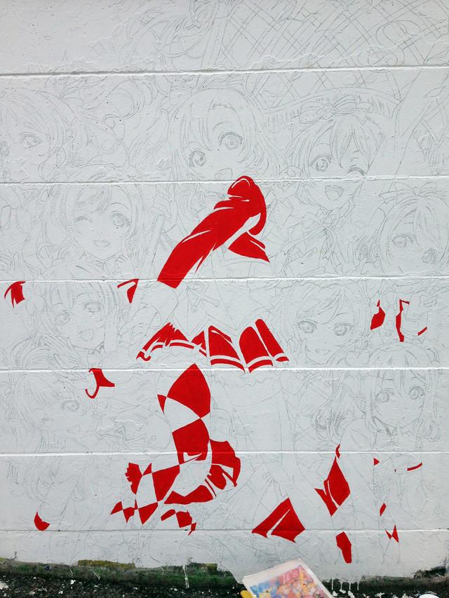 Love Live!'s History in Mural 20