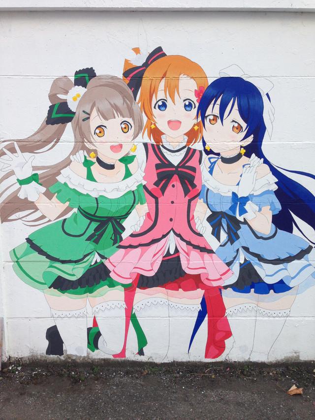 Love Live!'s History in Mural 7
