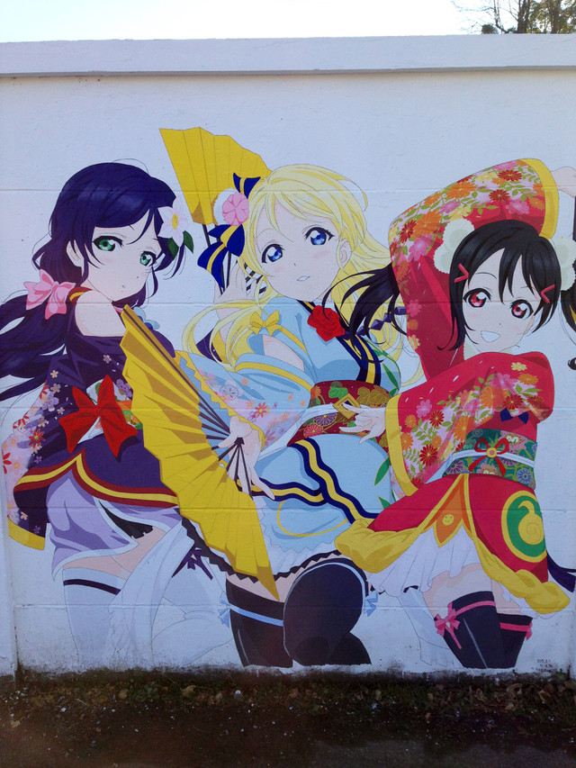Love Live!'s History in Mural 8