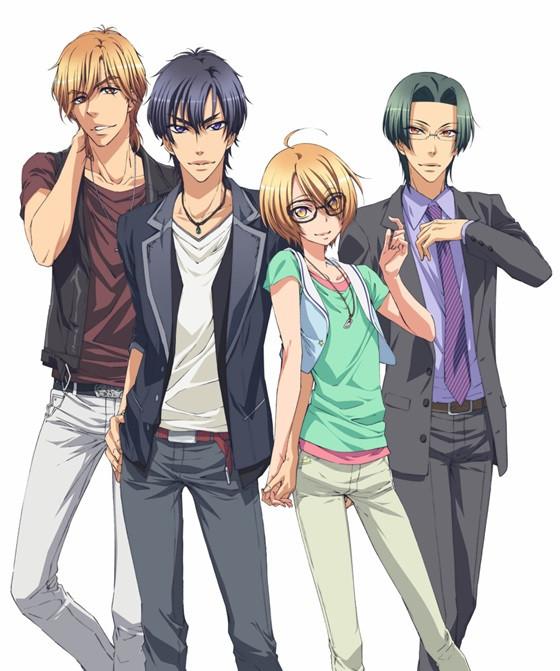 Love Stage!! anime key visual