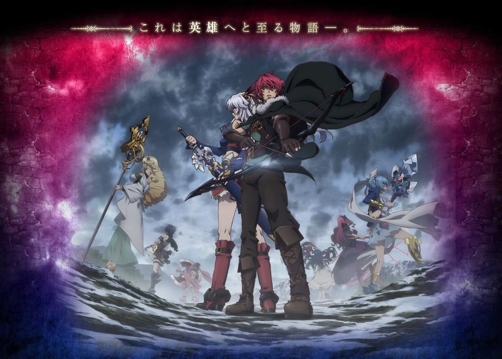 Madan no Ou to Vanadis anime website visual Haruhichan.com Madan no Ou to Senki The King of the Magic Bullet and Vanadis