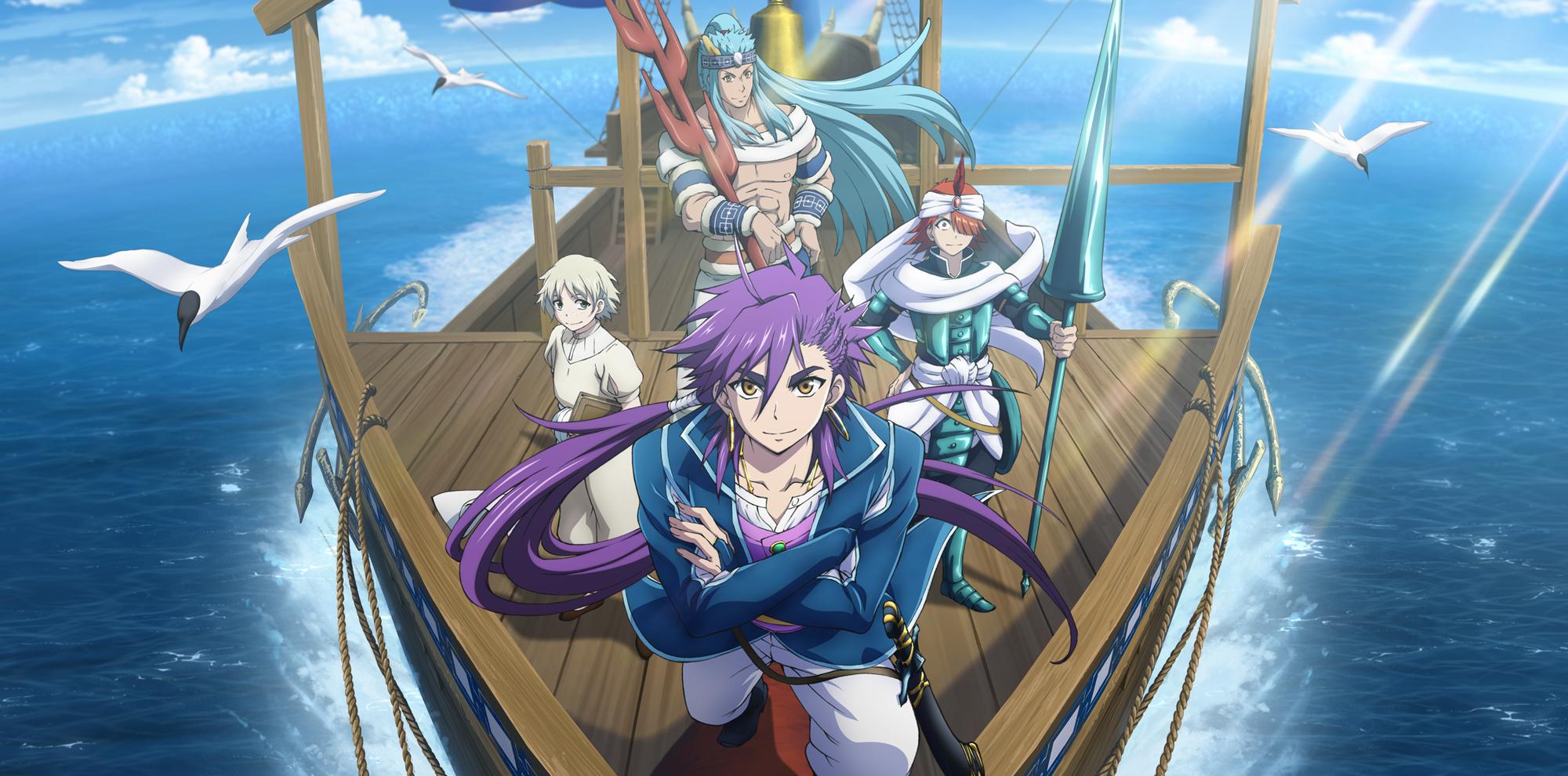 Magi Sinbad no Bouken TV Anime Visual Revealed