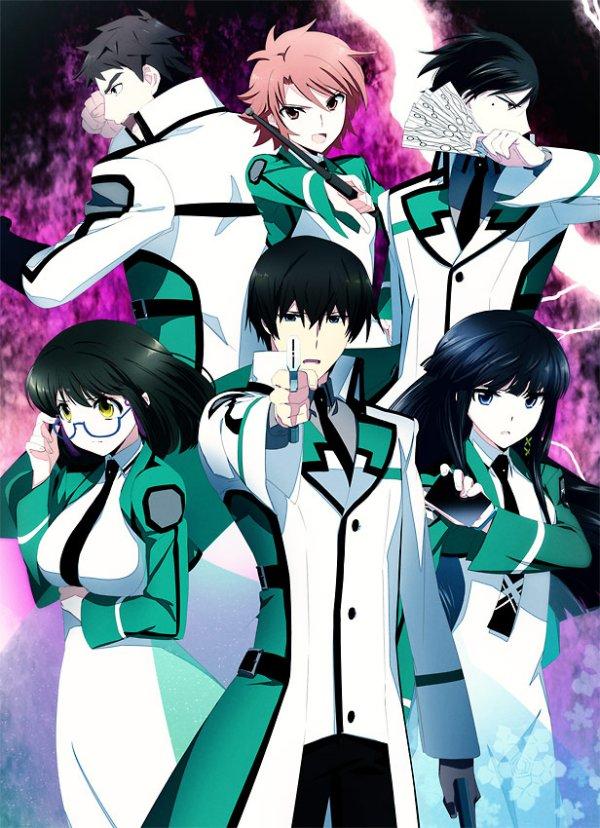 Mahouka Koukou no Rettousei anime visual haruhichan.com