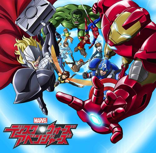 Marvel Disk Wars The Avengers anime