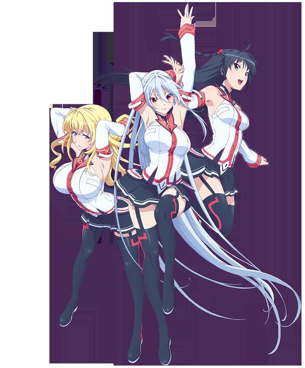 Masou Gakuen HxH anime visual
