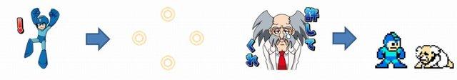 Mega Man Rockman LINE Stickers Released 2