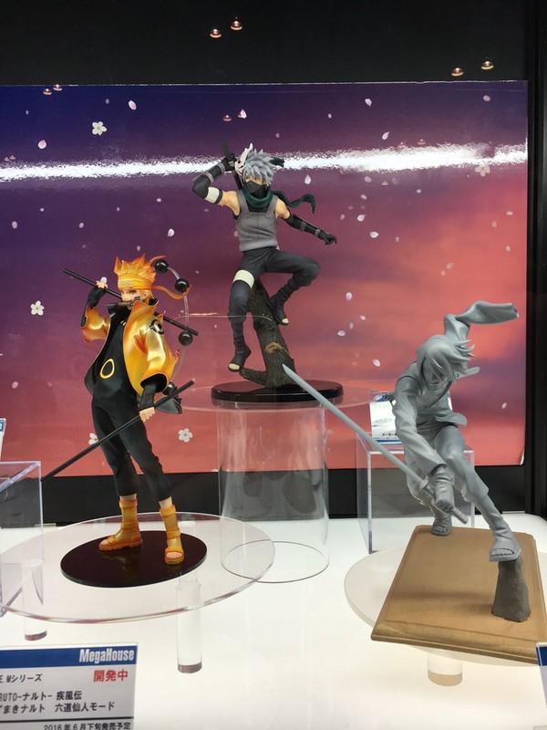Megahouse Confirms New G.E.M. Figures of Naruto, Sasuke, and Kakashi 5