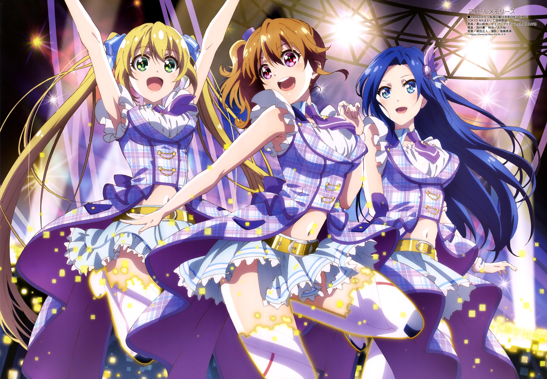 megami-magazine-november-2016-anime-poster-idol-memories