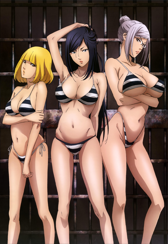 Megami-Magazine-September-anime-posters-prison school