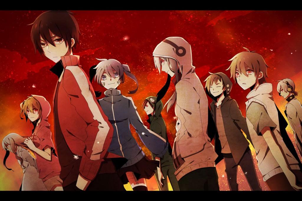 Mekaku City Actors anime series