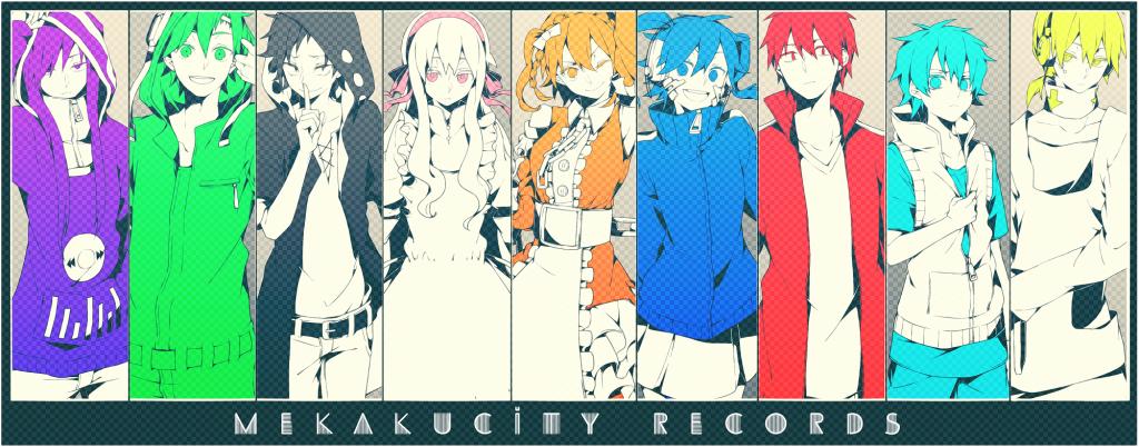 Mekakucity Actors anime