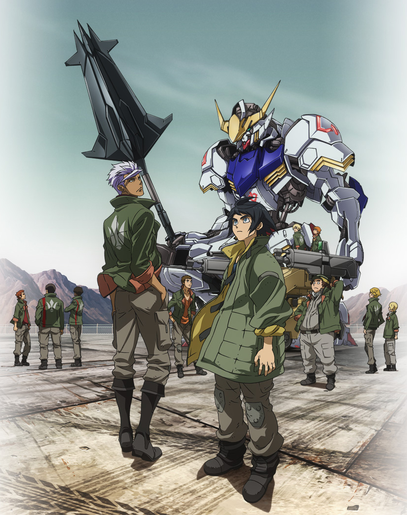 Mobile Suit Gundam Iron-Blooded Orphans anime visual