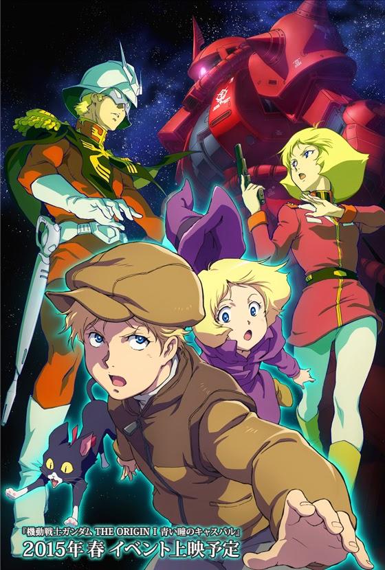 Mobile Suit Gundam The Origin Key Visual 1 haruhichan.com Mobile Suit Gundam The Origin I