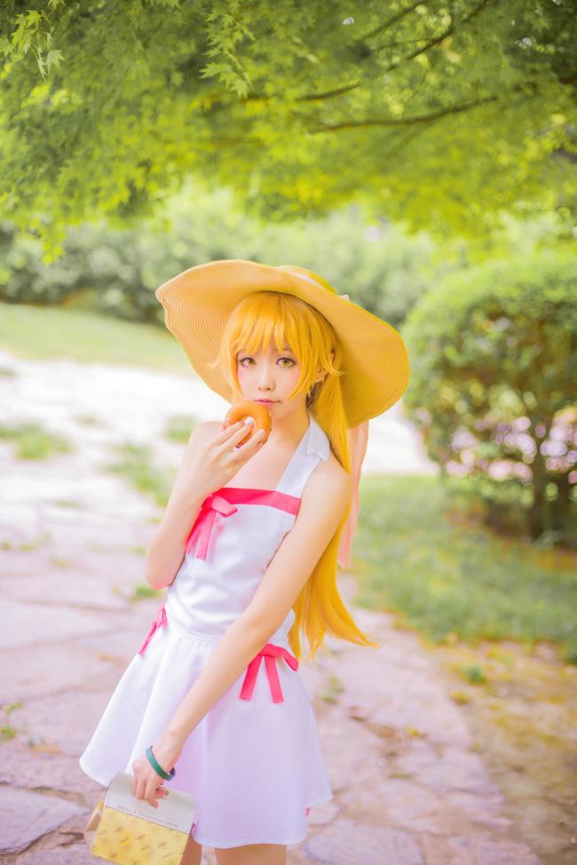 Monogatari Shinobu Oshino anime cosplay 001