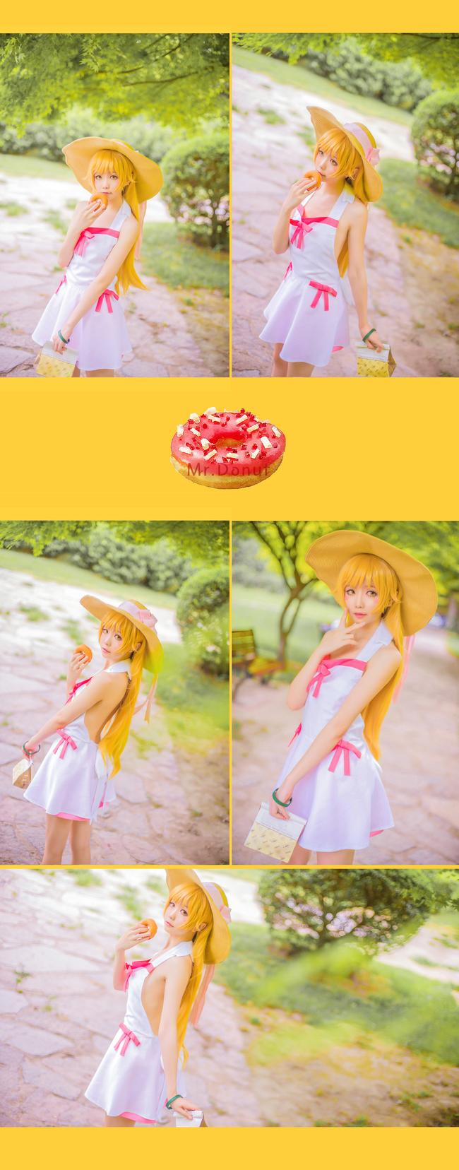 Monogatari Shinobu Oshino anime cosplay 011