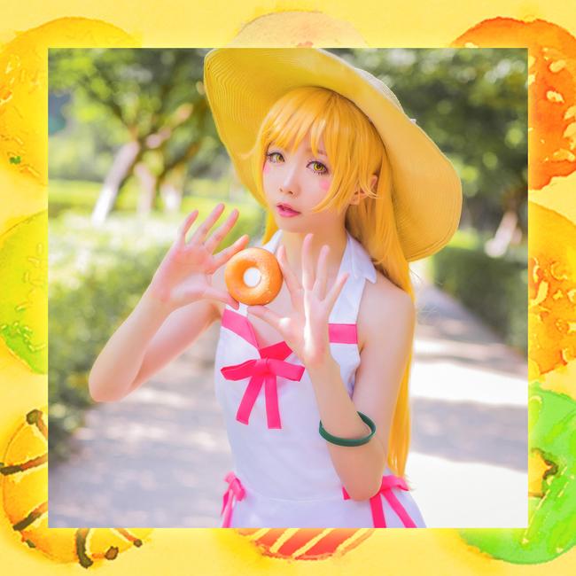 Monogatari Shinobu Oshino anime cosplay 021