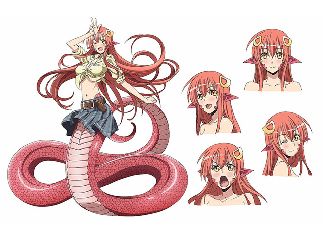 Monster Musume Official Preview Video, Seiyuus and Character Designs Revealed 1