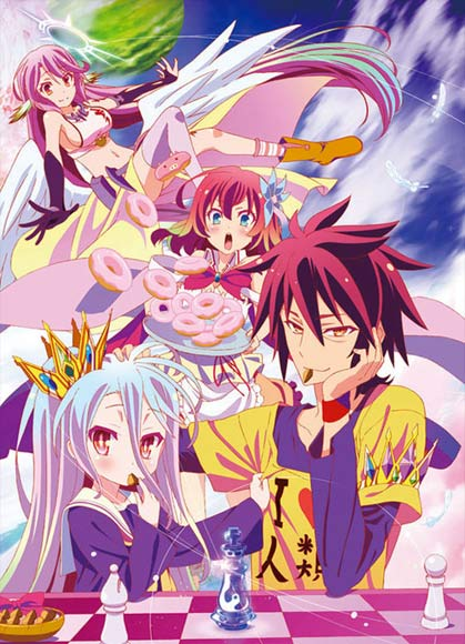 Most Wished for 2015 Anime Calendars haruhichan.com No Game No Life anime calendar