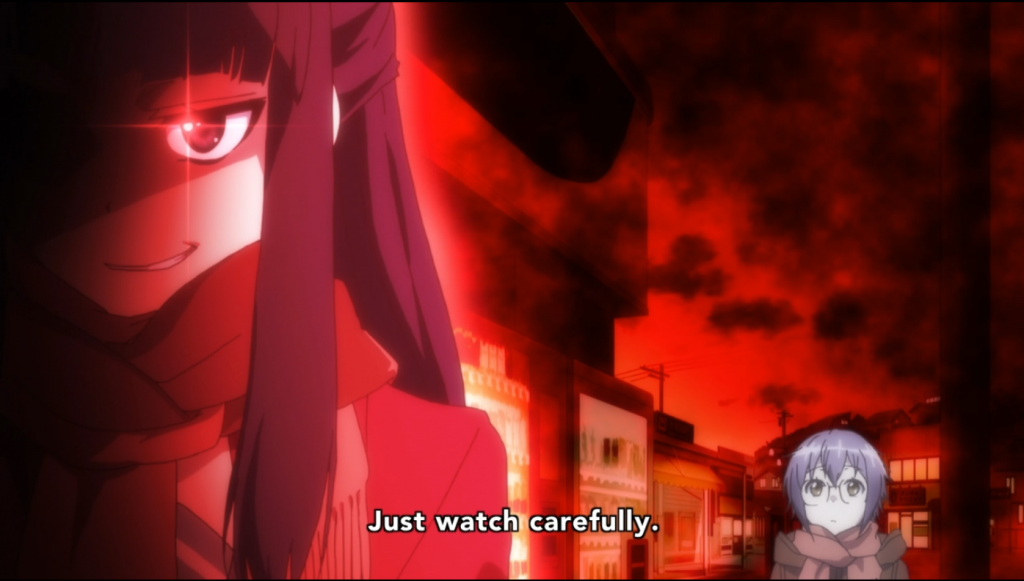 Trying to kill Kyon for the third time? We'll see...