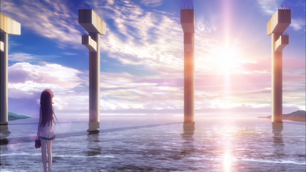 Nagi no Asukara First Opening Sunset Manaka