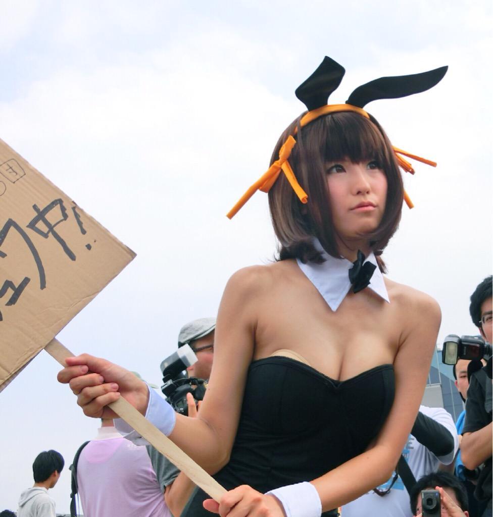 Nagisa Nagi Bunny Girl Cosplay Steals the Spotlight at Comiket 88 13