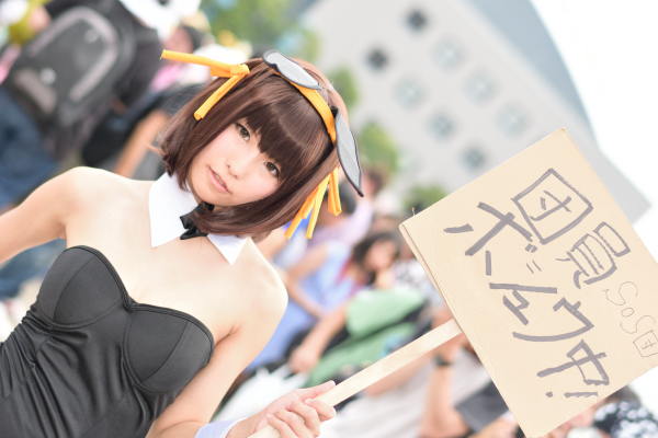 Nagisa Nagi Bunny Girl Cosplay Steals the Spotlight at Comiket 88 4