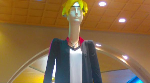 Nagoya's 6-Meter Mannequin Cosplays as Boruto 2