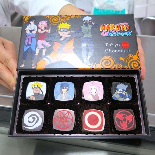 Naruto Chocolate