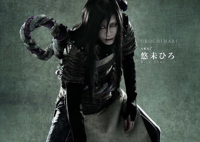 Naruto Stage Musical Visual haruhichan.com Naruto Stage Musical Visual cast Hiro Yuumi as Orochimaru
