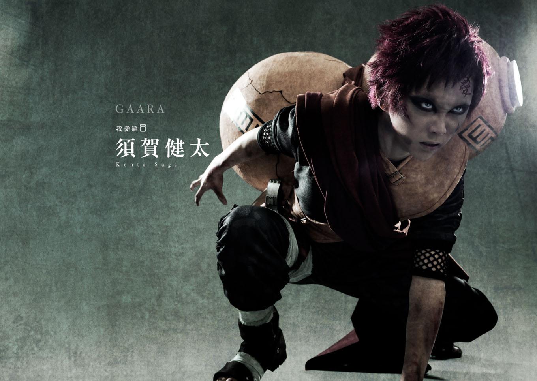Naruto Stage Musical Visual haruhichan.com Naruto Stage Musical Visual cast Kenta Suga as Gaara