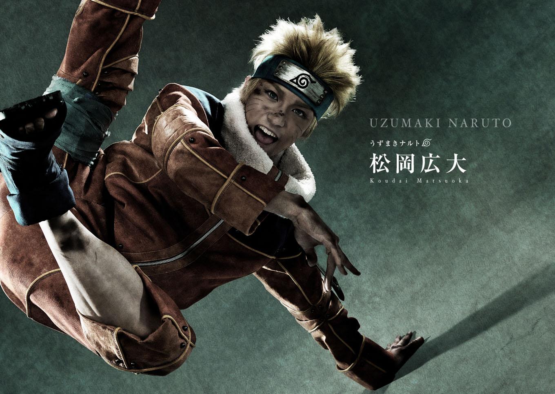 Naruto Stage Musical Visual haruhichan.com Naruto Stage Musical Visual cast Koudai Matsuoka as Naruto