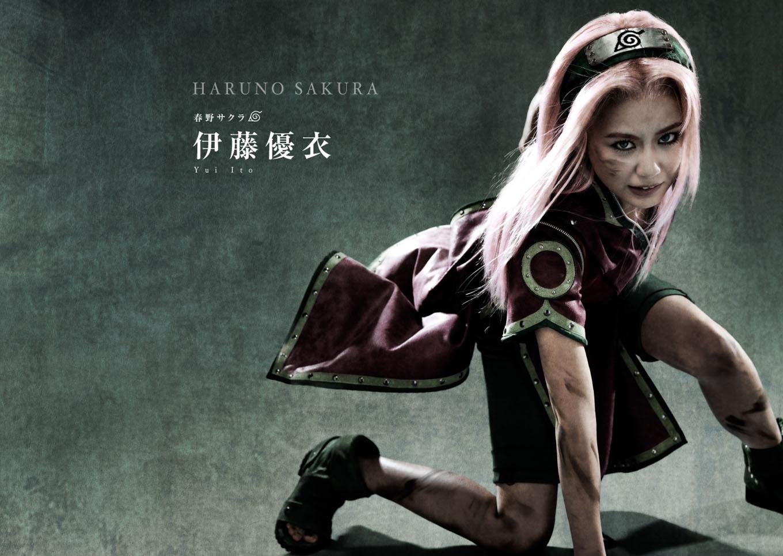 Naruto Stage Musical Visual haruhichan.com Naruto Stage Musical Visual cast Yui Ito as Sakura