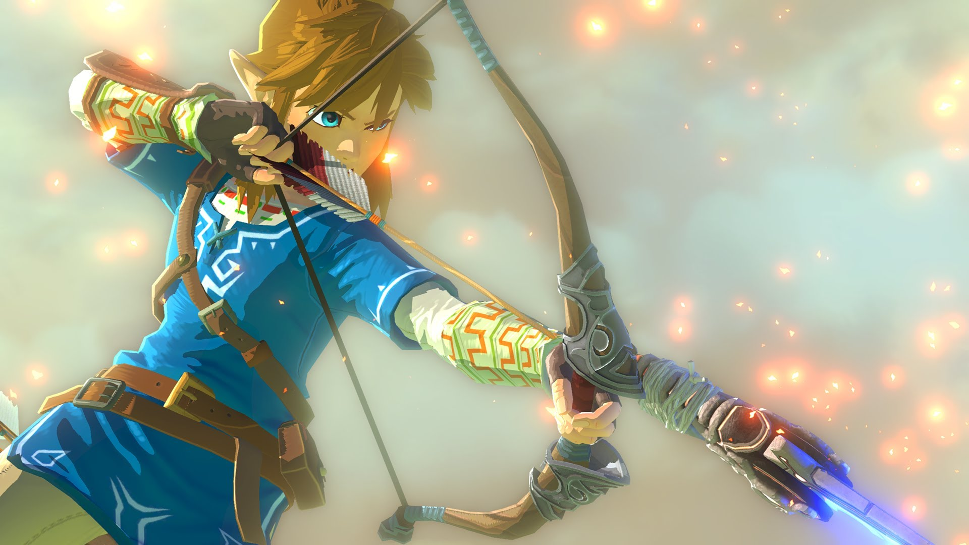 Screenshot from the upcoming Legend of Zelda for the Wii U.