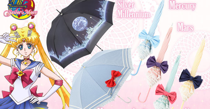 Never Get Rained in with New SuperGroupies Sailor Moon Umbrellas 2