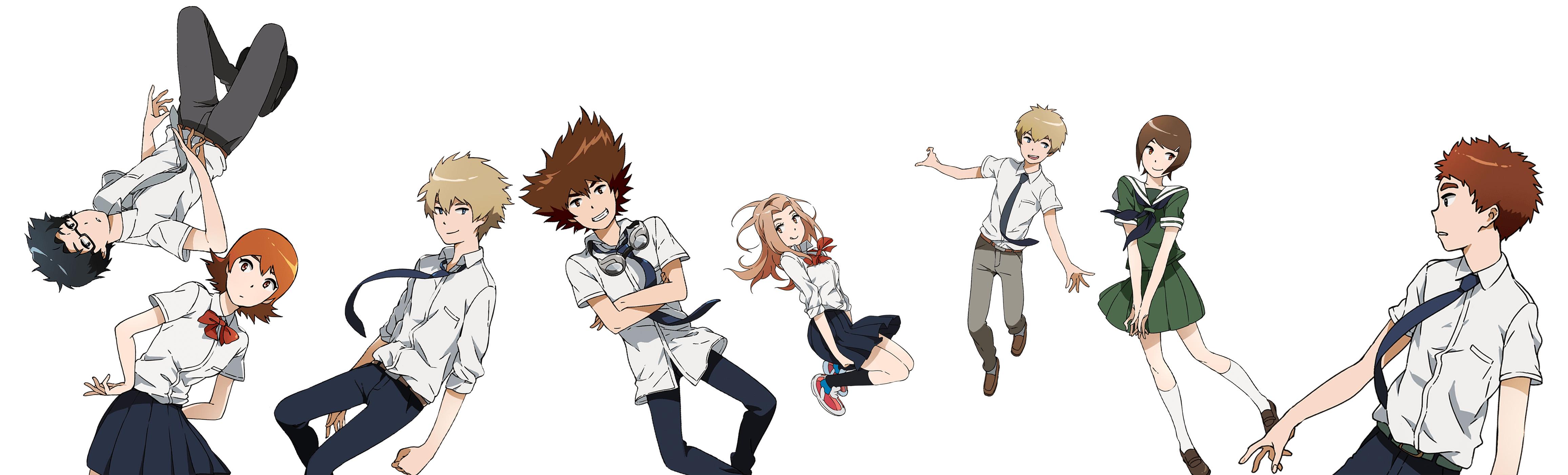 New Digimon Adventure Tri Character Design Visuals 1