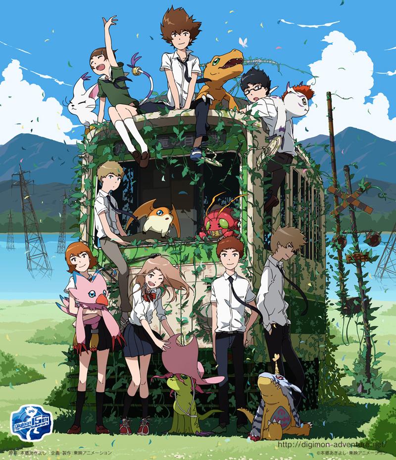 New Digimon Adventure Tri. Key Visual Revealed haruhichan.com digimon adventure 2015 key visual