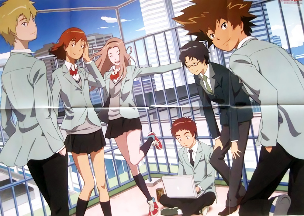 New Digimon Adventure tri. Visuals Previewed in Japanese Magazines
