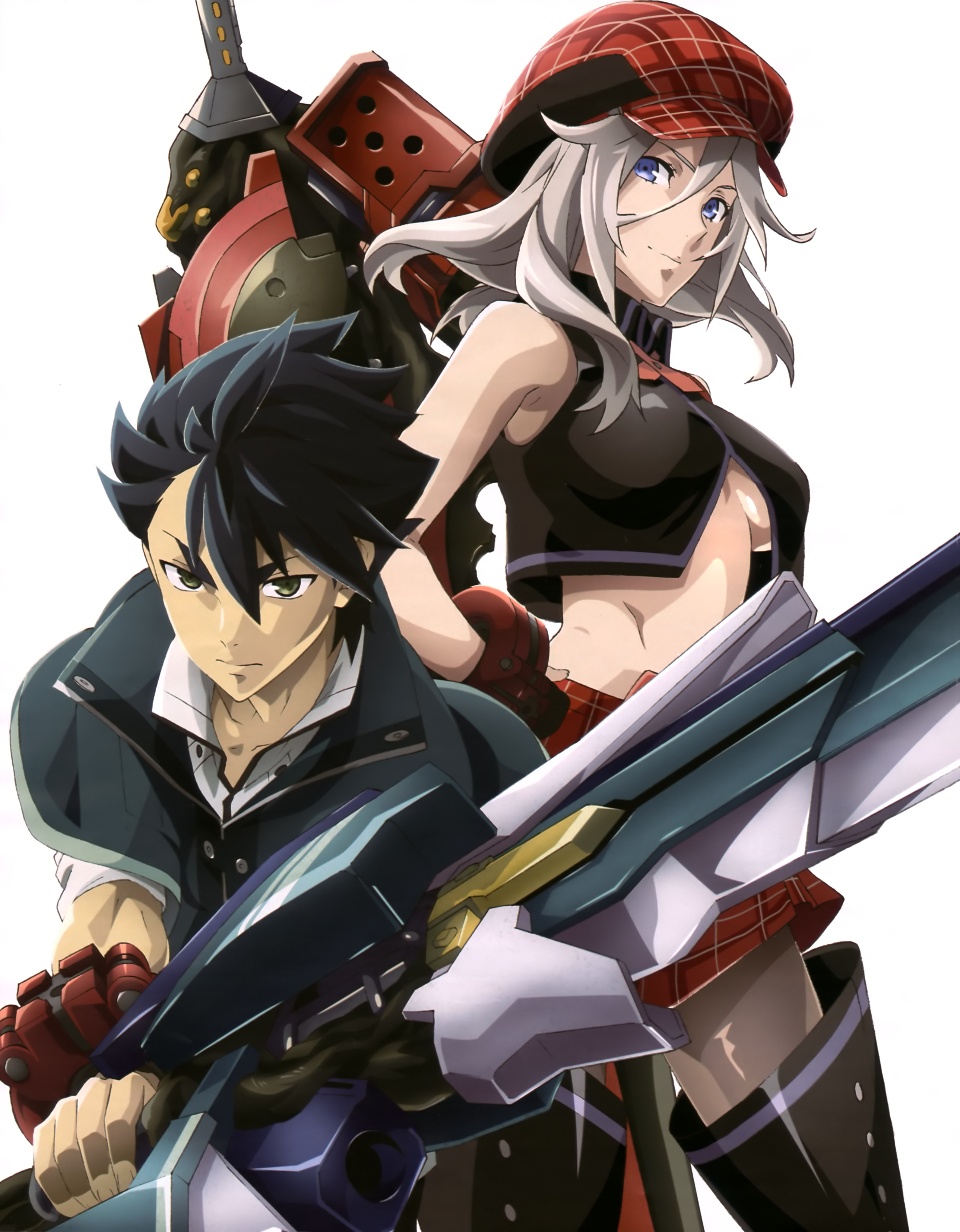 New God Eater Anime Visual Featured in Animedia