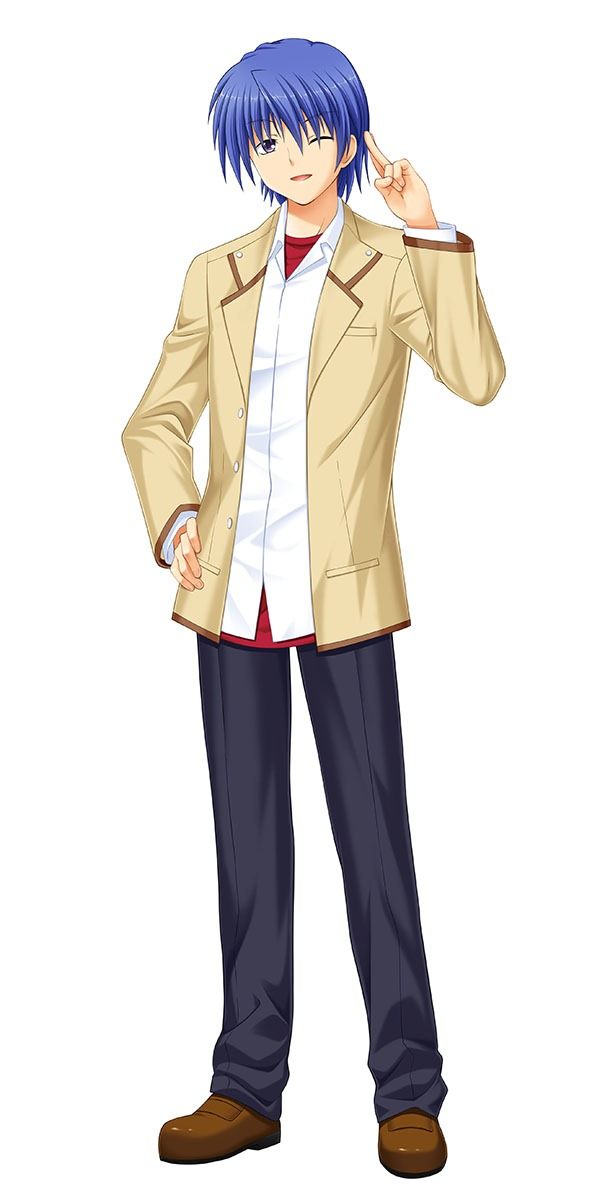 New Images Released For Angel Beats! Visual Novel 16
