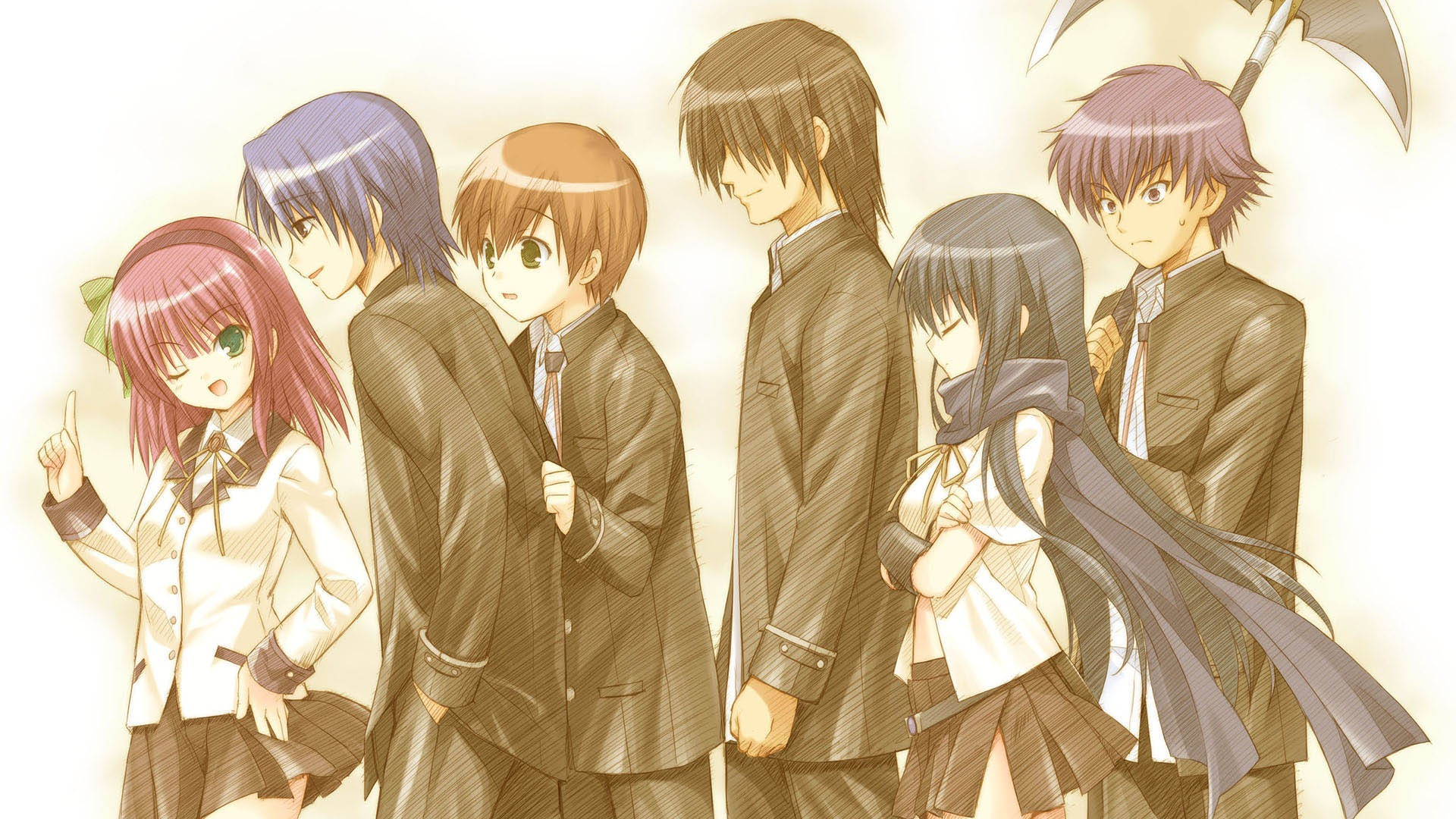 New Images Released For Angel Beats! Visual Novel 4