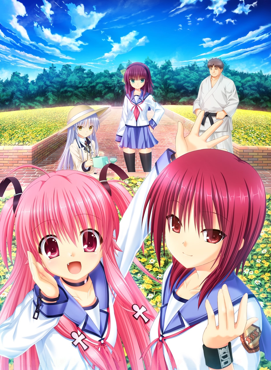 New Images Released For Angel Beats! Visual Novel 5