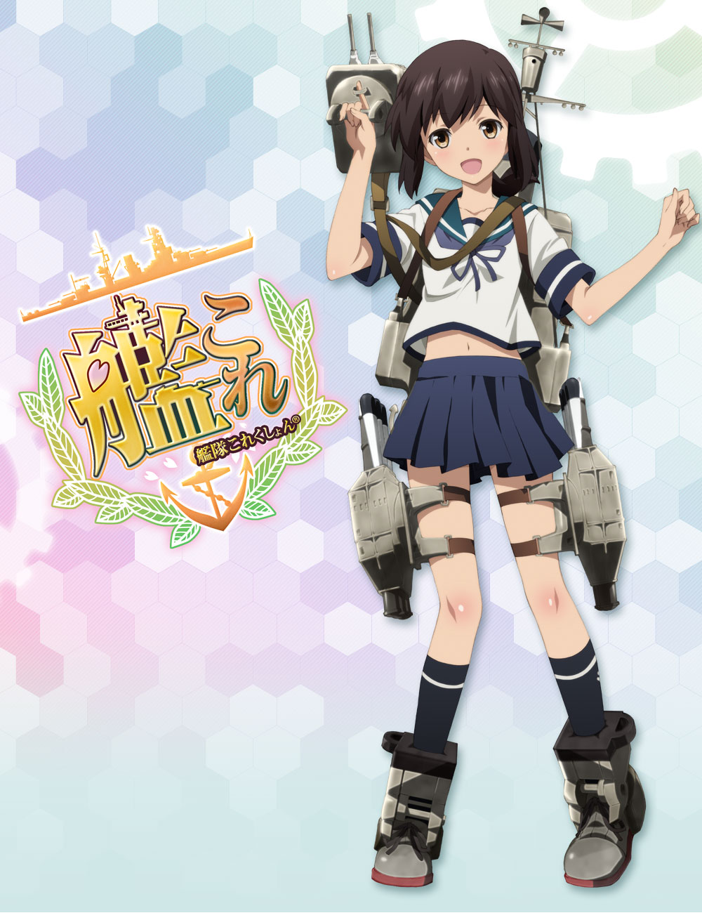 New Kantai Collection Kan Colle Anime Visuals & Character Designs Pic 2
