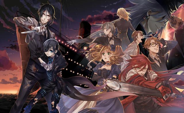 New Kuroshitsuji Anime Film Slated for Early 2017